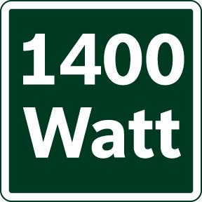 Snaga 1400W