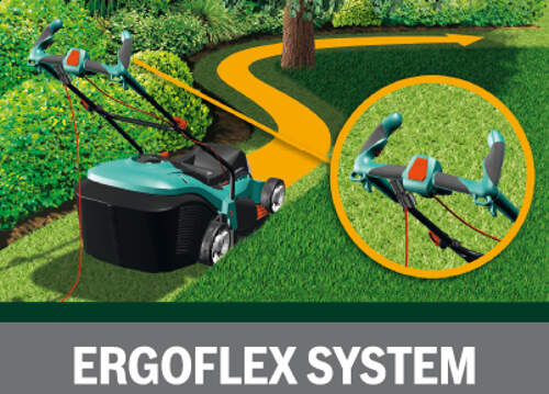 Bosch Rotak 32 Ergoflex sistem