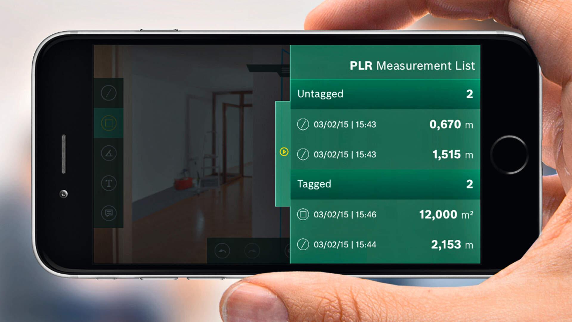Bosch Entfernungsmesser App : Entfernungsmesser bluetooth test bosch plr c laser