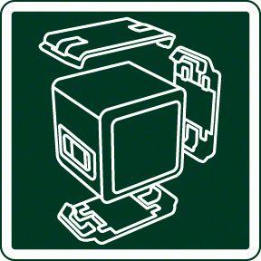 Bosch Quigo 3 mogućnosti učvršćivanja adapterske ploče