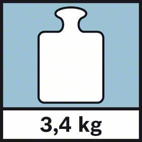 Težina stativa 3,4 kg Bosch BT 250