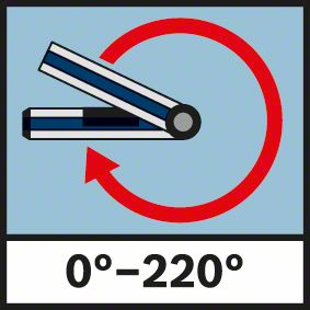 Merenje do 220 stepeni Bosch GAM 220 MF