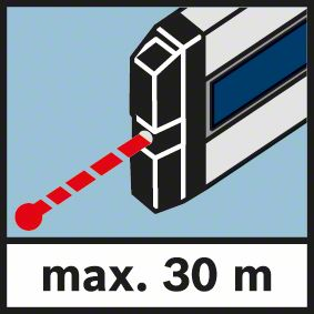 Domet lasera 30 metara Bosch GIM 60 L