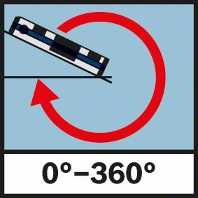 Merenje u 360 stepeni Bosch GIM 60 L