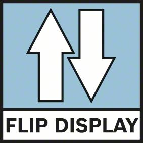 Rotacija ekrana u zavisnosti kako je postavljen merač