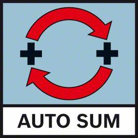 Funkcija automatskog sabiranja poslednja dva merenje Bosch GLM 30