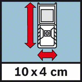Male dimenzije 10x4cm Bosch GLM 30