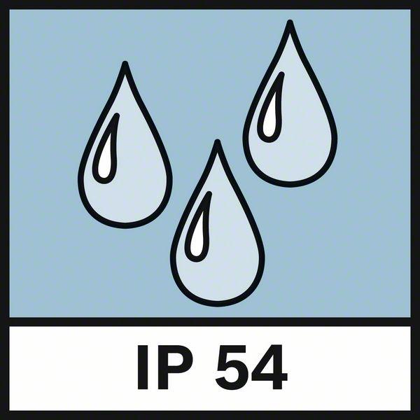 IP 54 zaštita Bosch GLM 80