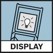 Osvetljenje ekrana displeja Bosch GLM 80