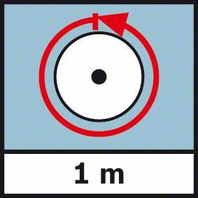 Obim točka 1m Bosch GWM 32