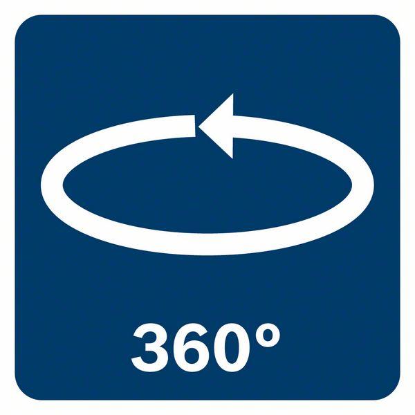 360 stepeni okretanja Bosch RM 3