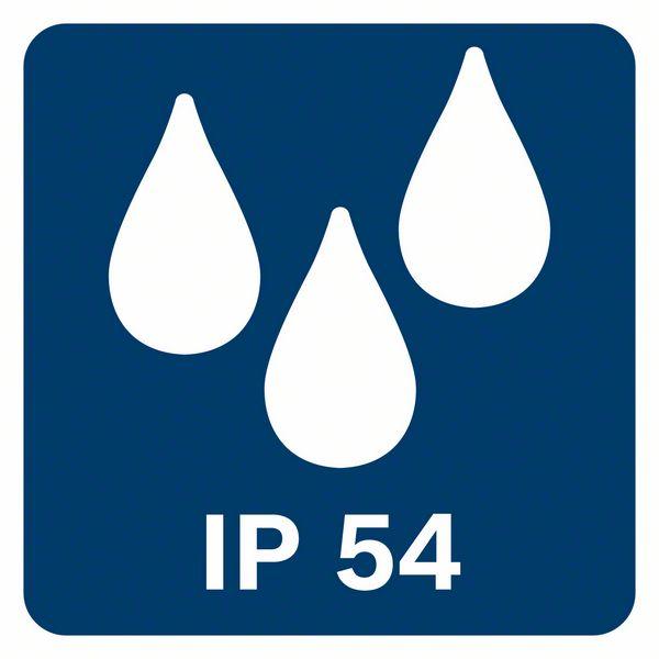 IP54 zaštita od vode i prašine Bosch GLL 3-80 CG