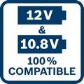 Kompatibilne sa 12V i 10,8V alatima