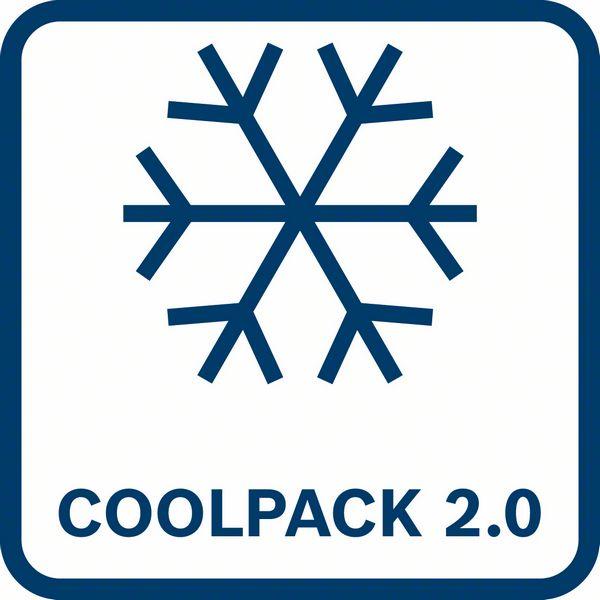 CoolPack 2.0 tehnologija hlađenja ProCORE 18V 12,0 Ah