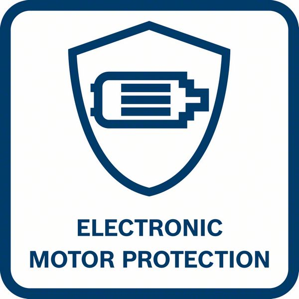 Bosch GDR 12V-110 elektronska zaštita motora