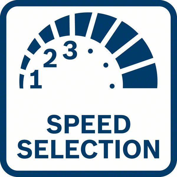 Izbor brzine rotacije Bosch GDR 18V-200 C