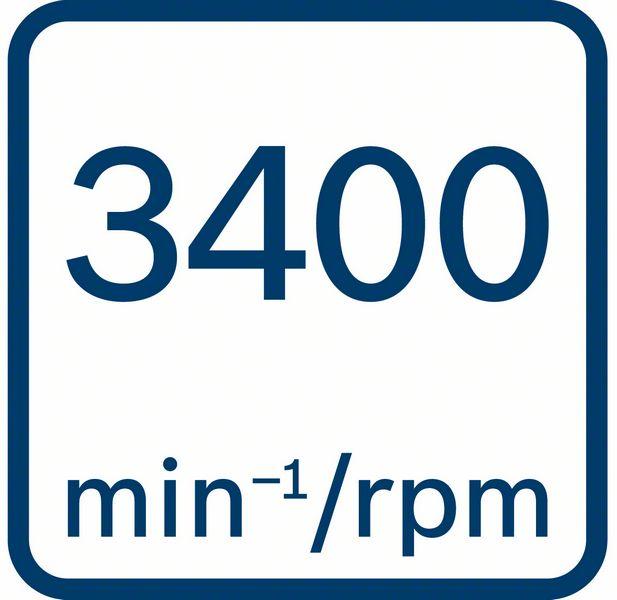 3400 obrtaja u minutu Bosch GDX 18V-200 C