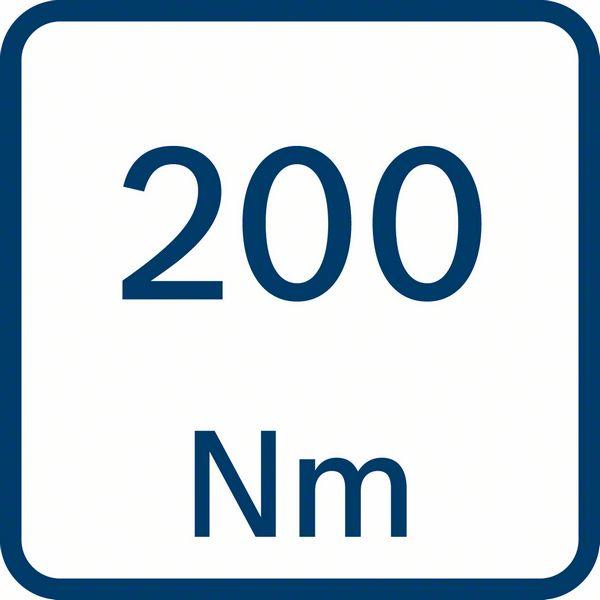 200 Nm obrtni moment Bosch GDX 18V-200 C