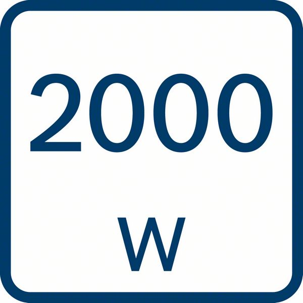 Bocsh GHG 20-60 snaga 2000W