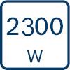 2300 W snaga