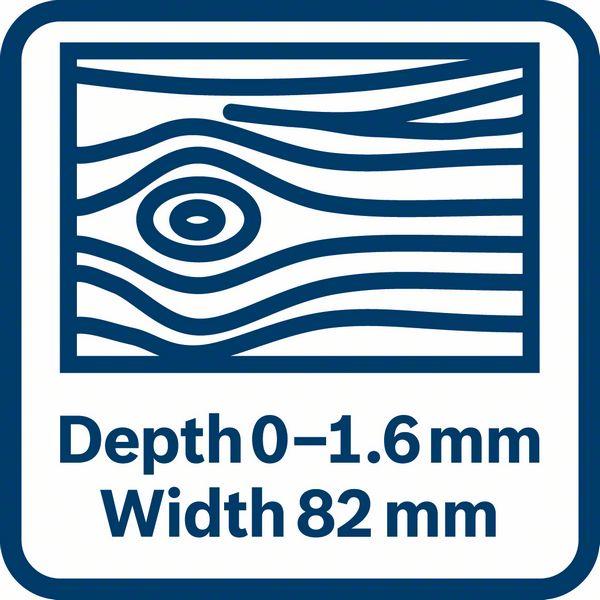 Bosch GHO 16-82 dimenzije