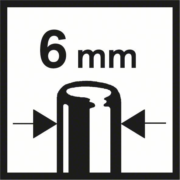 Bosch GKF 550 prima glodala sa prihvatom 6mm