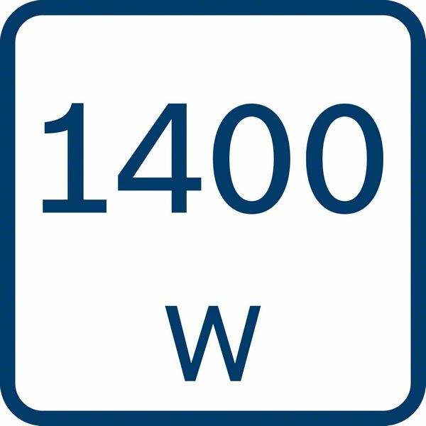 1400 W snaga motora