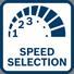 Bosch GSB 140-Li regulacija broja obrtaja