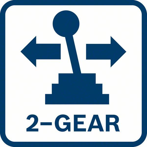 Bosch GSR 18-2-LI Plus dve brzine