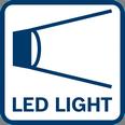Bosch GSR 12V-15 led lampa svetlo