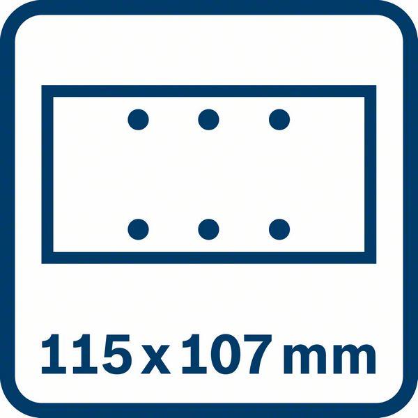 Bosch GSS 160 Multi brusna ploča 1