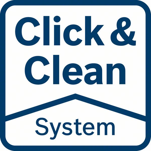Bosch GSS 280 AVE click&clean system