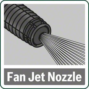 Bosch AdvancedAquatak 150 Fan Jet mlaznica