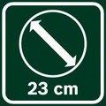 Bosch AFS 23-37 prečnik sečenja noža