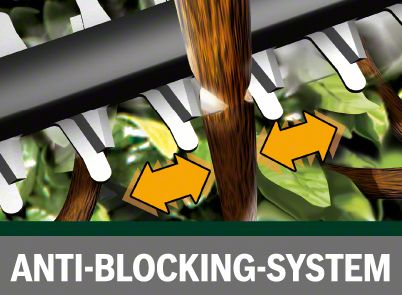 Bosch AHS 55-20 Li sistem protiv blokiranja
