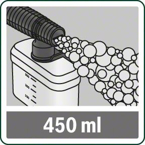 Bosch UniversalAquatak 135 posuda za šamponiranje zapremine 450 ml