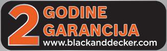 Black+Decker 2 godine garancija