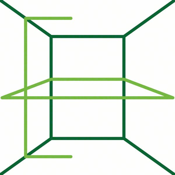 Bosch UniveralLevel 360 linije
