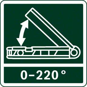 Bosch PAM 220 merno područje