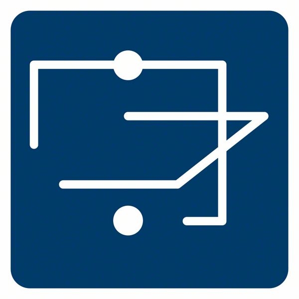 Bosch GCL 2-50 C linijski laser funkcija linije i tačke
