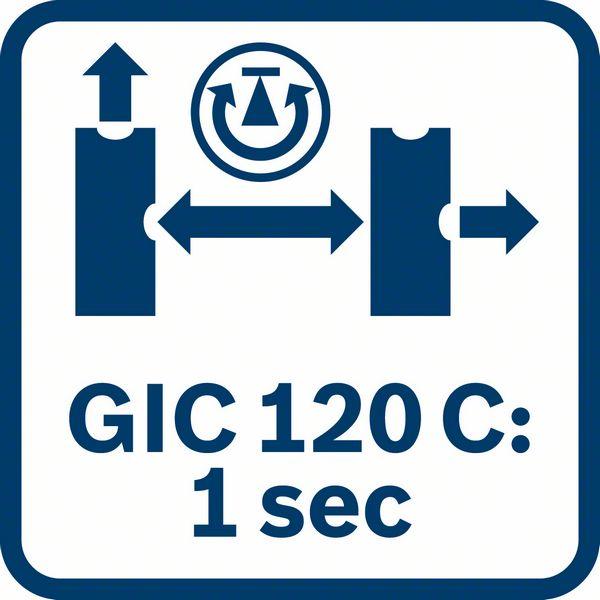 Bosch GIC 120 C 1 sekunda