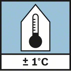 Bosch GIS 1000 C rezolucija merenja 0,1°C