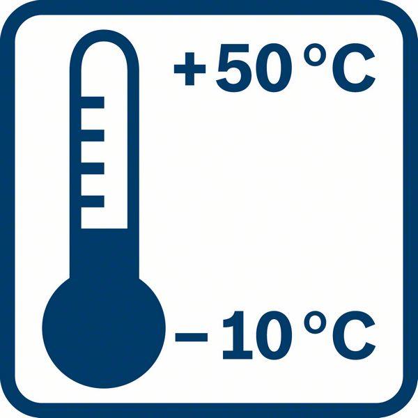 Bosch GLL 2-10 radna temperatura
