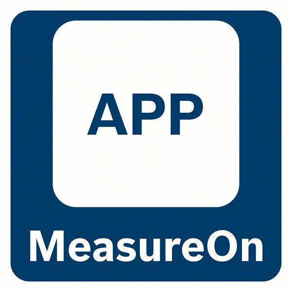 MeasureOn aplikacija za prebacivanje podataka