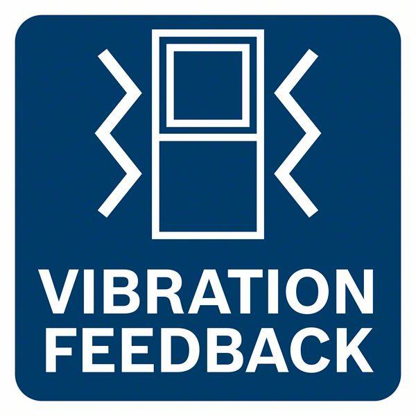 Vibracija obaveštava korisnika da je merenje uspešno izvršeno