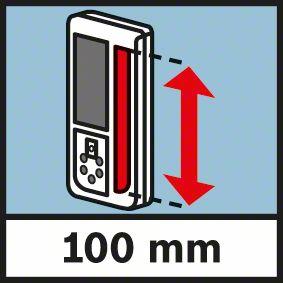 Bosch GRL 500 H visina prijemnog senzora 100mm