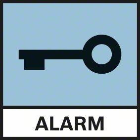 Bosch GRL 500 HV alarm i zaštita od krađe