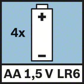Wall Scanner D-Tect 150 4 baterije 1,5V