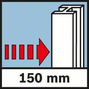 Wall Scanner D-Tect 150 detektuje do 150mm