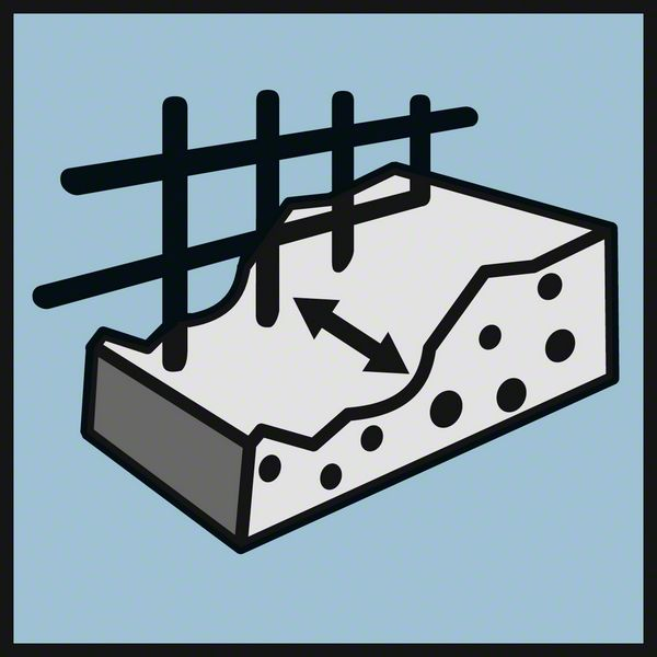 Wall Scanner D-Tect 150 detektuje kroz beton